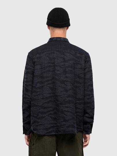 Diesel - D-JESSY-SP, Black/Blue - Denim Shirts - Image 2