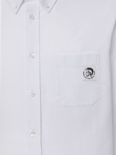 Diesel - S-JAMES, White - Shirts - Image 3