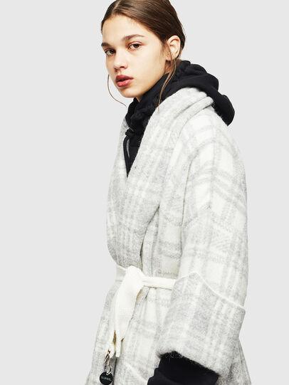 Diesel - M-BOU, Grey/White - Winter Jackets - Image 3