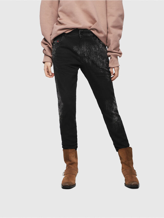 Diesel - Krailey JoggJeans 069DT, Black/Dark grey - Jeans - Image 1