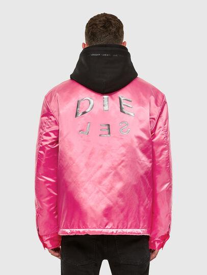 Diesel - J-FOOT, Pink - Jackets - Image 2