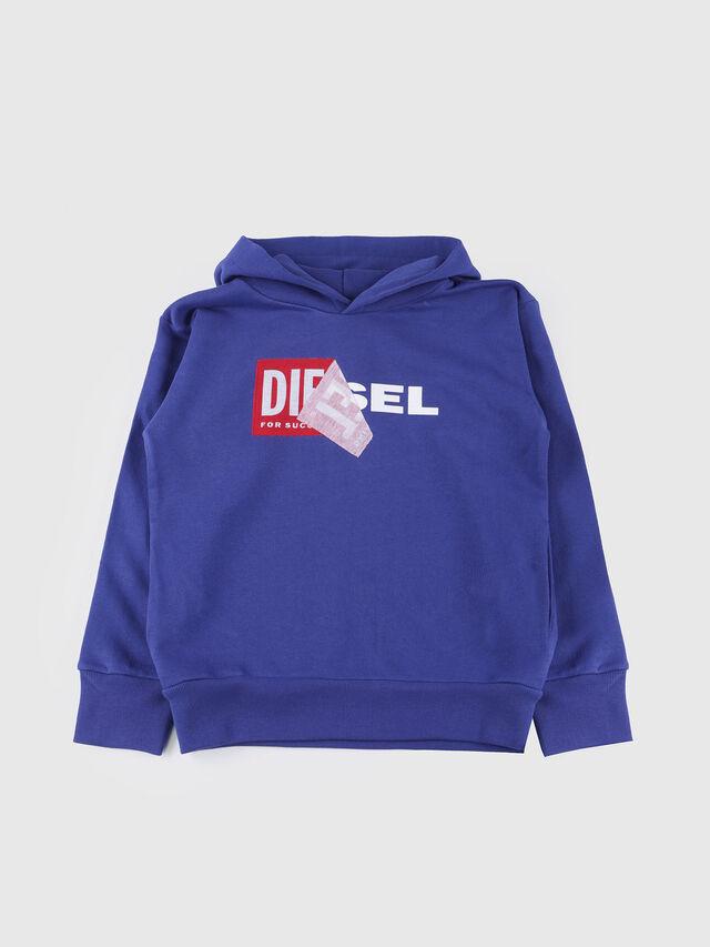 Diesel - SALBY OVER, Cerulean - Sweaters - Image 1
