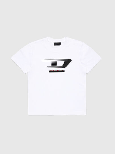 Diesel - TJUSTY4, White - T-shirts and Tops - Image 1