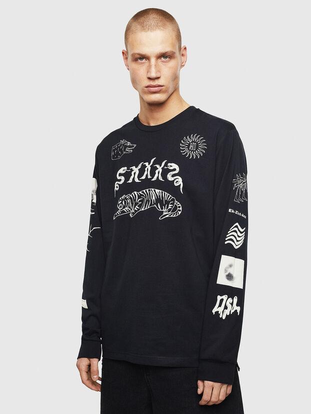 T-JUSTLY, Black - T-Shirts
