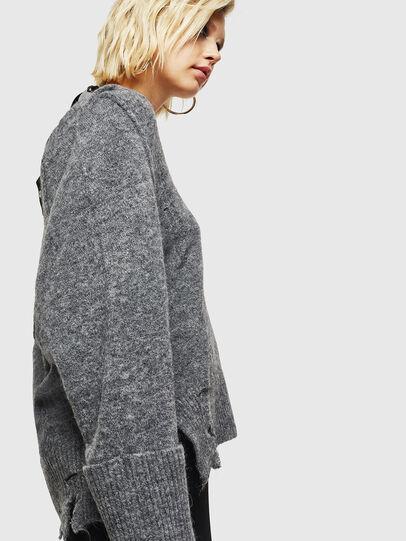 Diesel - M-MARIKAX, Grey - Knitwear - Image 5