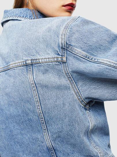 Diesel - DE-CATY, Light Blue - Denim Jackets - Image 4