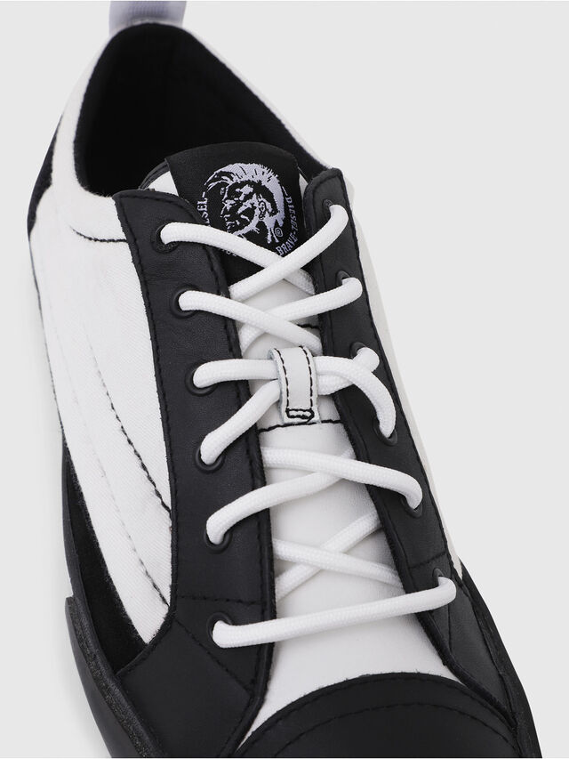 Diesel - D-VELOWS LOW PATCH, Black/White - Sneakers - Image 4