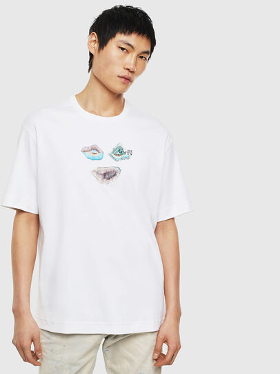 Diesel - TEORIALE-A, White - T-Shirts - Image 1