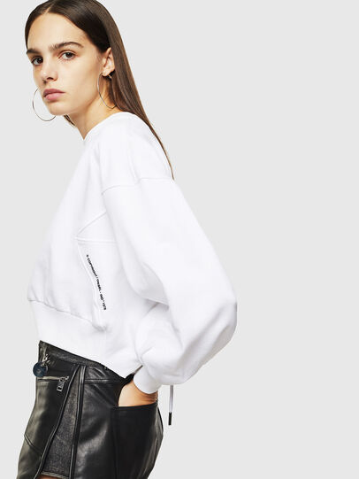 Diesel - F-MONDY, White - Sweaters - Image 3
