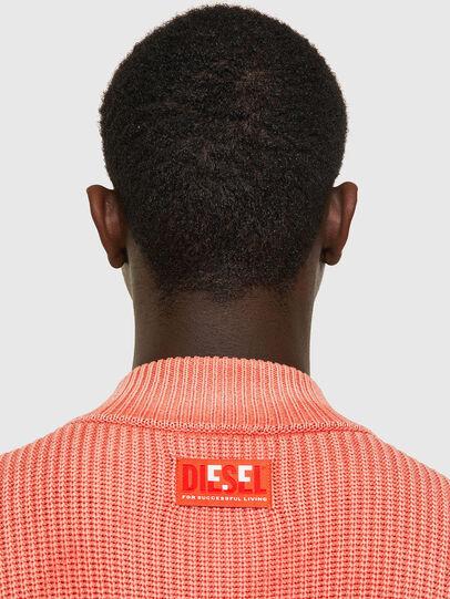 Diesel - K-KENTUCKY ZIP, Pink - Knitwear - Image 4
