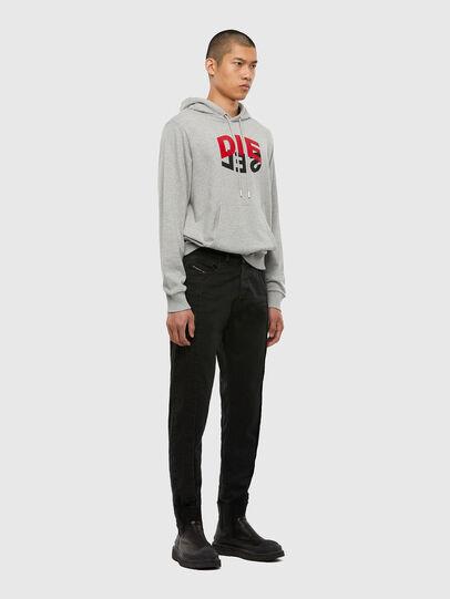 Diesel - S-GIRK-HOOD-N1, Grey - Sweaters - Image 7