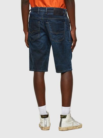 Diesel - D-KROOSHORT-Y JOGGJEANS, Dark Blue - Shorts - Image 2