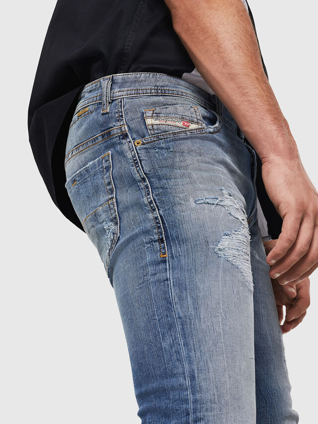 Diesel - Thommer 0090M, Medium blue - Jeans - Image 3