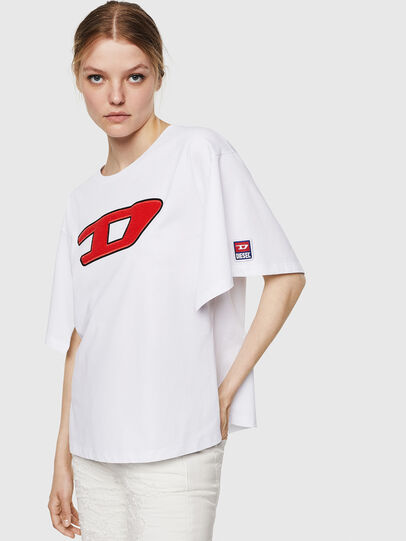 Diesel - T-JACKY-I, Cream - T-Shirts - Image 1