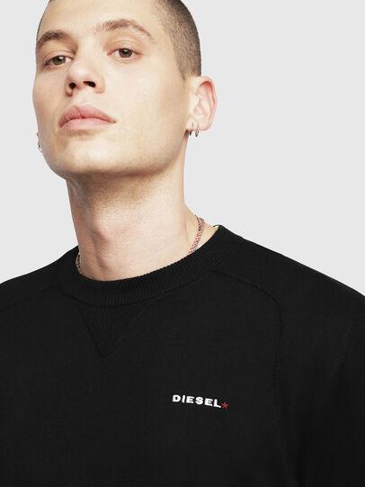 Diesel - K-LAUX, Black - Knitwear - Image 3