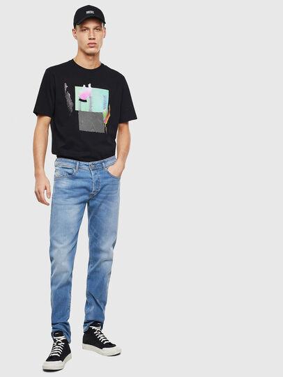 Diesel - Buster 069MN, Light Blue - Jeans - Image 5