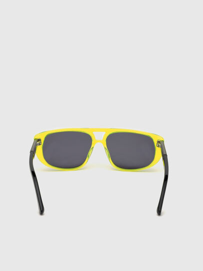 Diesel - DL0306, Yellow Fluo - Kid Eyewear - Image 4