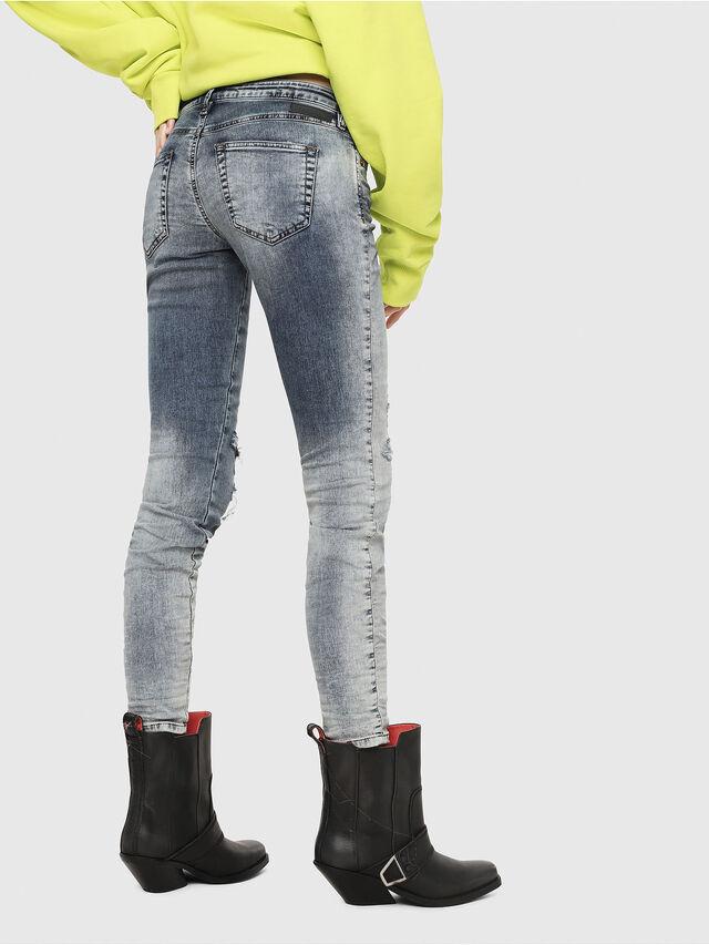 Diesel - Gracey JoggJeans 069FC, Medium blue - Jeans - Image 2