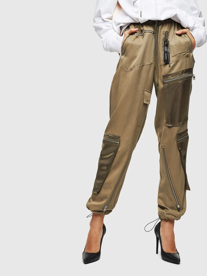 Diesel - P-LEX, Military Green - Pants - Image 1