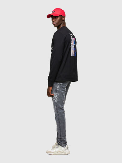 Diesel - Krooley JoggJeans® 069SN, Light Grey - Jeans - Image 5