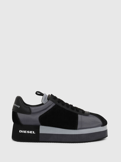 Diesel - S-PYAVE WEDGE, Blue/Black - Sneakers - Image 1