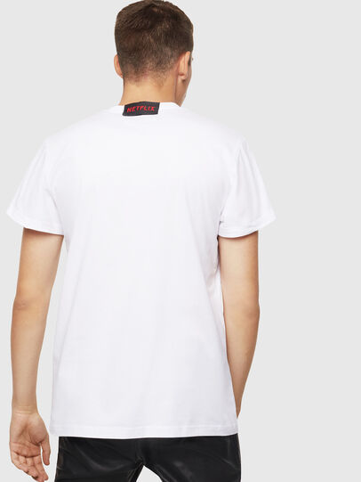 Diesel - LCP-T-DIEGO-NAIROBI, White - T-Shirts - Image 3
