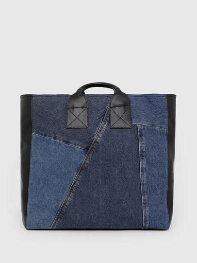Diesel - LEENA, Blue - Shopping and Shoulder Bags - Image 2
