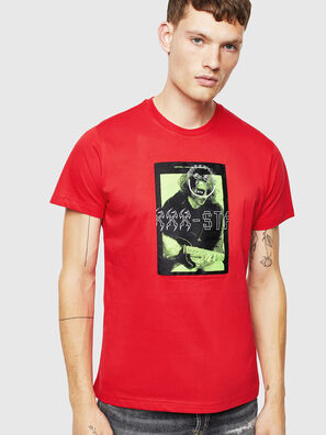 T-DIEGO-J1, Red - T-Shirts