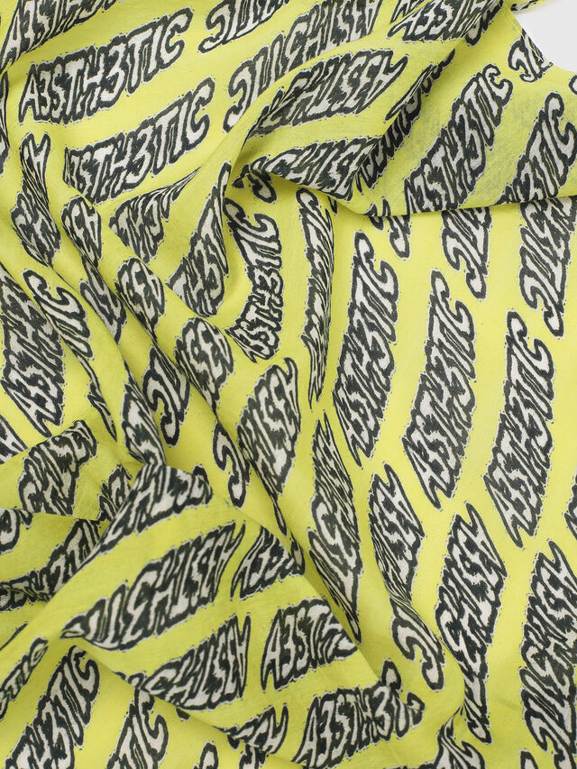 Diesel - S-AESTHE, Yellow - Scarf - Image 2