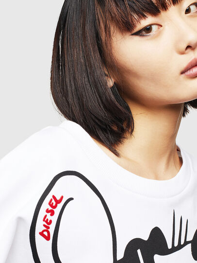 Diesel - CL-F-MAGDA-BIGM, White - Sweaters - Image 5