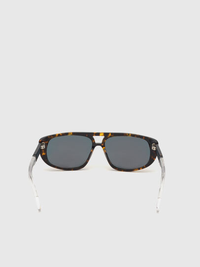 Diesel - DL0306, Brown/White - Kid Eyewear - Image 4
