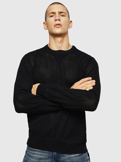 Diesel - K-RIO, Black - Knitwear - Image 1