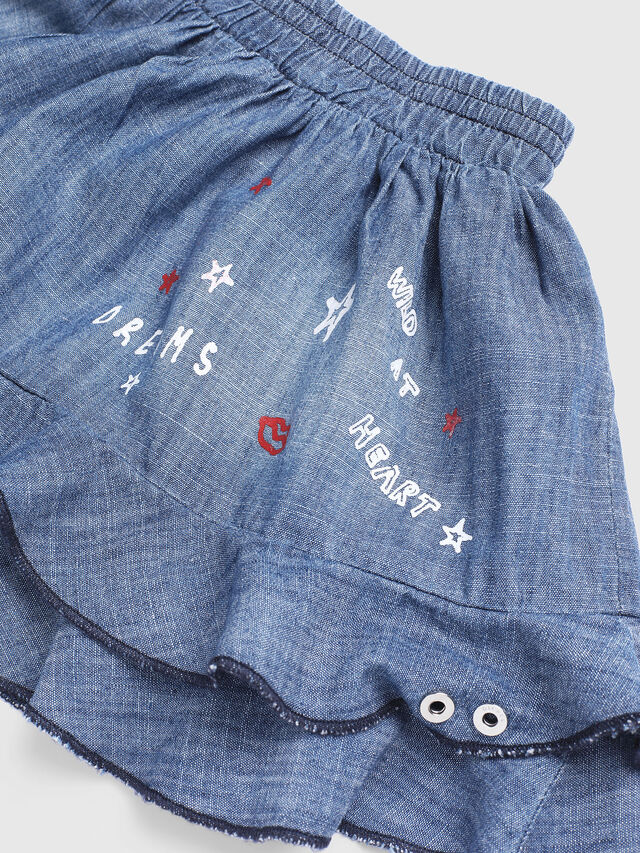 Diesel - GIRAB, Blue Jeans - Skirts - Image 3