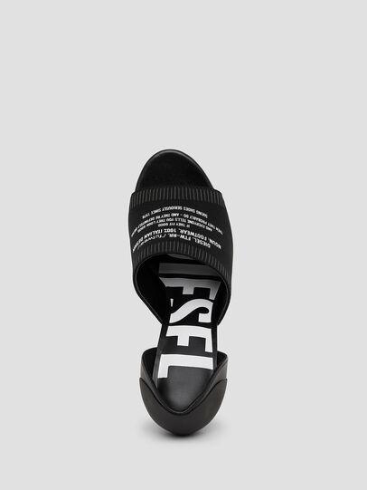 Diesel - SA-SLANTY OT, Black - Sandals - Image 5