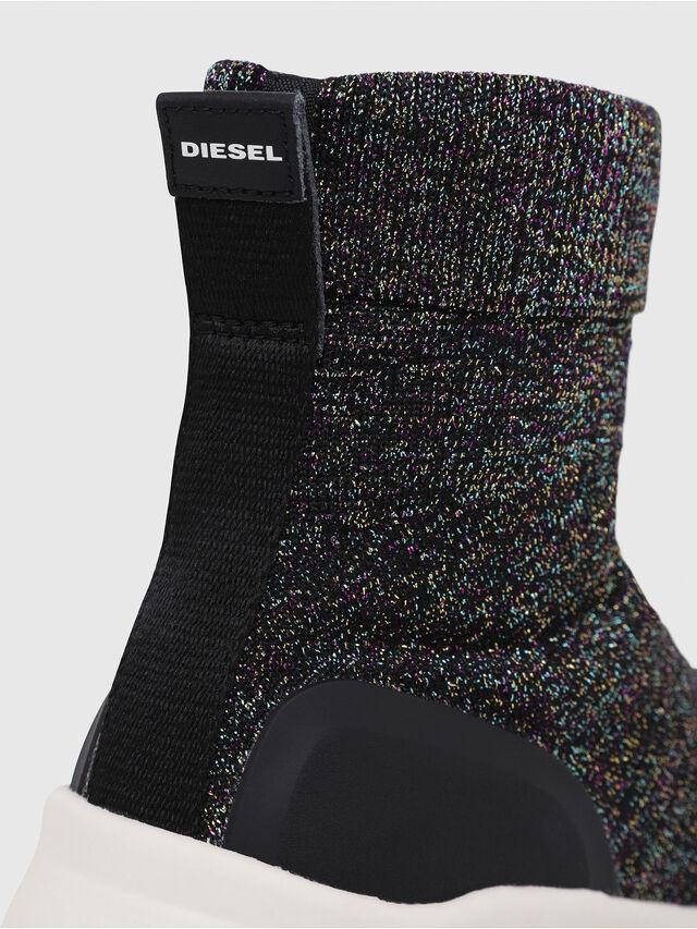 Diesel - S-KBY SOCK W, Multicolor/Black - Sneakers - Image 5