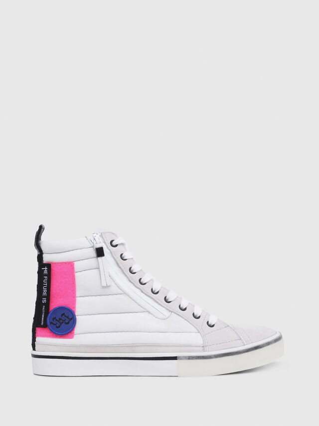 Diesel - D-VELOWS MID PATCH W, White - Sneakers - Image 1