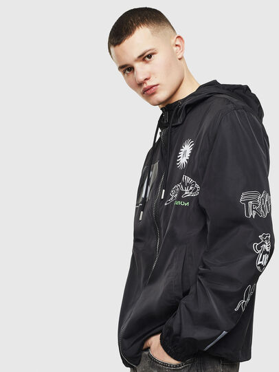 Diesel - J-HEAD, Black - Jackets - Image 7