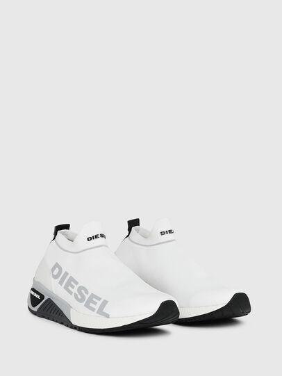 Diesel - S-KB ATHL SOCK II, White - Sneakers - Image 2
