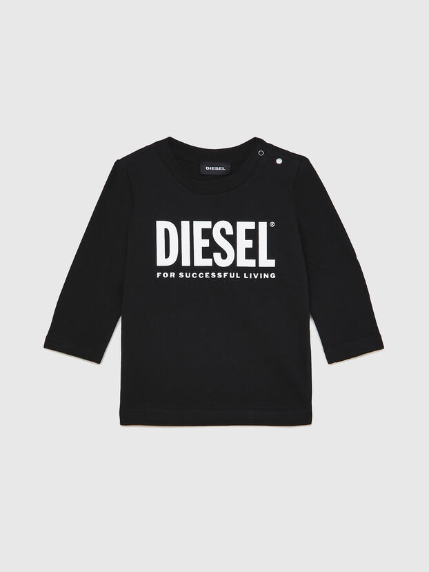 TJUSTLOGOB ML, Black - T-shirts and Tops