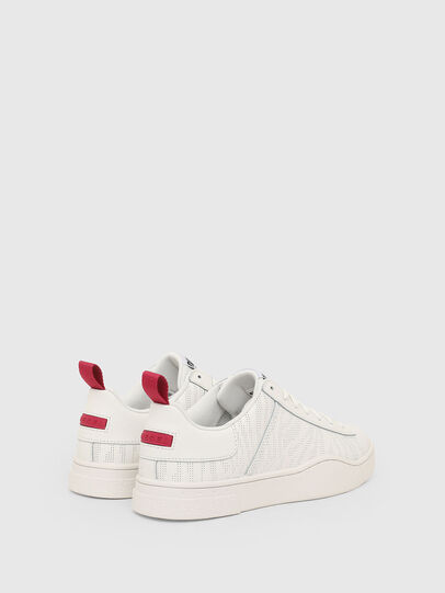Diesel - S-CLEVER LOW LACE W, White - Sneakers - Image 3