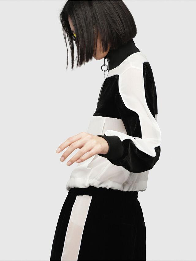Diesel - G-TIKAL, Black/White - Jackets - Image 3
