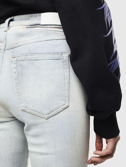 Diesel - Babhila High 009AX, Light Blue - Jeans - Image 5