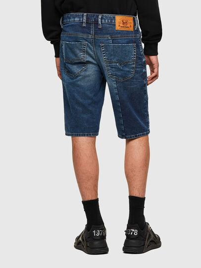 Diesel - D-KROOSHORT-Y-GO JOGGJEANS, Dark Blue - Shorts - Image 2