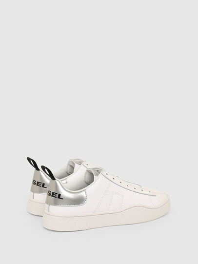 Diesel - S-CLEVER SO W, White/Silver - Sneakers - Image 3