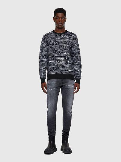 Diesel - K-AZOTIC, Black/Grey - Knitwear - Image 5