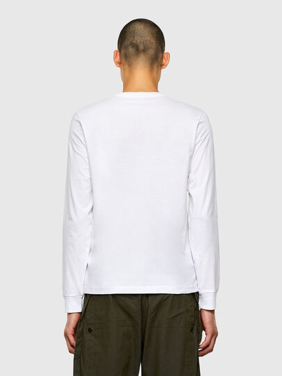 Diesel - T-DIEGOS-LS-K41, White - T-Shirts - Image 2