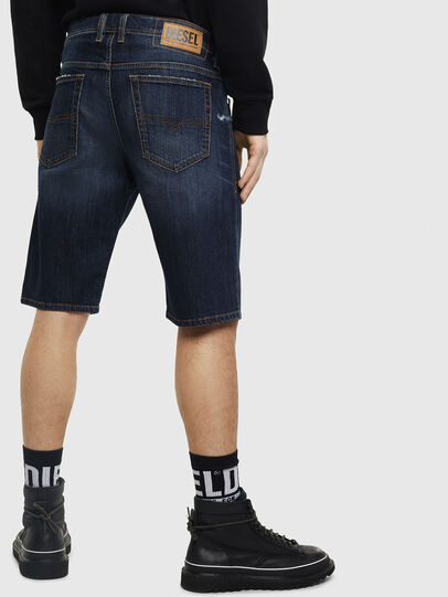 Diesel - THOSHORT, Dark Blue - Shorts - Image 2