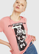 T-EMIKO-C, Pink - T-Shirts