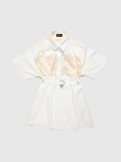 Diesel - DTIEP, White - Dresses - Image 1
