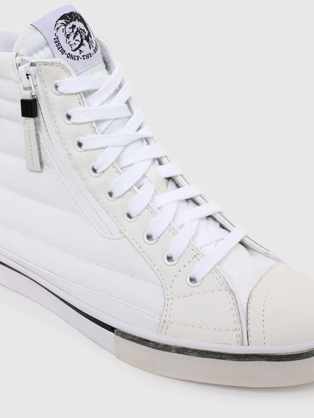 Diesel - D-VELOWS MID PATCH W, White - Sneakers - Image 4